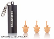 EarPeace HD Hearing Protection Earplugs