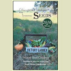 2016 Victory Seed Company Annual Catalog