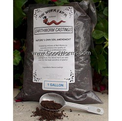 Earthworm Castings (gallon)