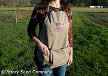 Gardening Apron, Victory Seed Company