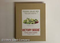 Tossed Salad Mix (aka Mesclun or Spring Salad Mix) Collection