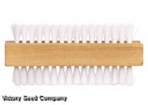Fingernail Brush, Wooden Handled