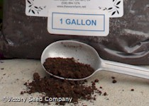 Earthworm Castings (gallon)<br><b>SOLD OUT</b>