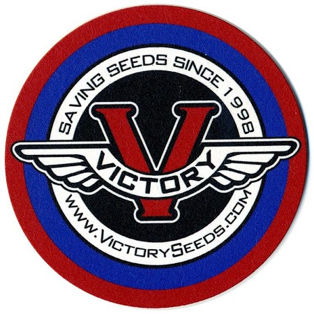 "Coaster, 3.7"" Round Victory Seeds®"