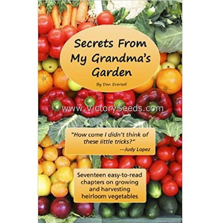 Secrets From My Grandma's Garden Paperback