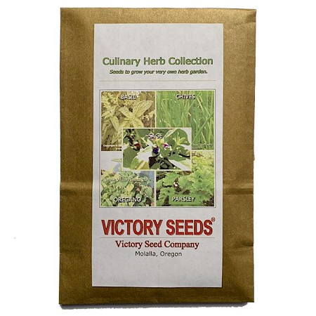 Culinary Herb Seed Collection<br><b>SOLD OUT - Please Check Back</b>
